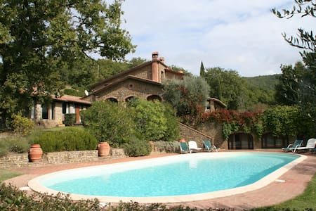A charming Tuscan retreat in Arezzo - Wohnung