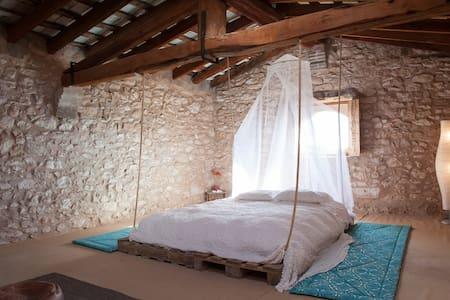 ANCIENT 1770 FORTRESS - MASIA  - St Pere de Ribes
