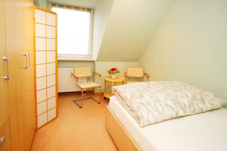 1 Double Room / French Bed - Nuremberg - Bed & Breakfast