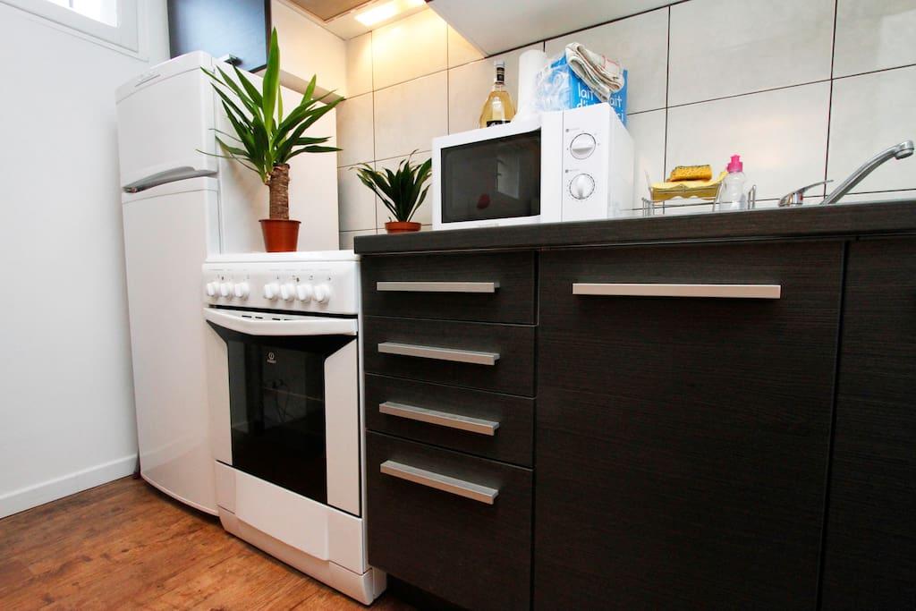 Equiped kitchen / cuisine équipée