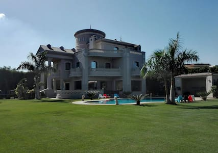 A heavenly, lakeview villa at Alexandria - Emberouz WA Moharram Beik