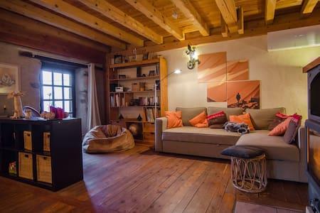 Chalet familial en montagne - 110m² - Séchilienne - Rumah