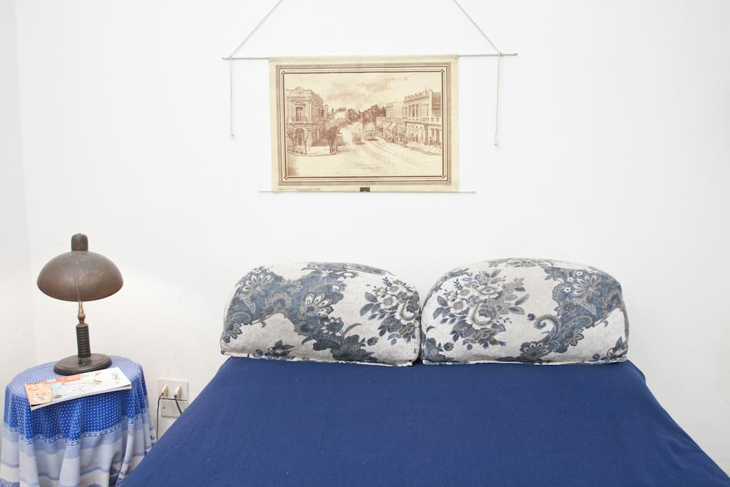 Room with double bed for couples