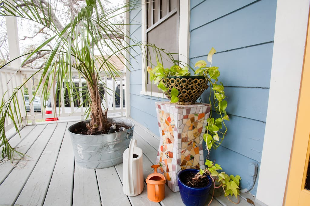 Greetings!  Front deck with screen door welcome you to your home away from home.