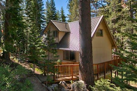 3B+Loft Cabin - Forest/Creek views! - Ház