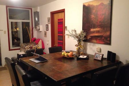 Cozy and artsy room in Ideal Location(Plateau!) :D - Montréal - Apartment