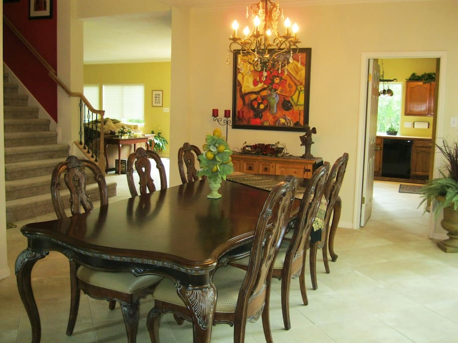 Formal Dining Area - One of Three Eating Areas