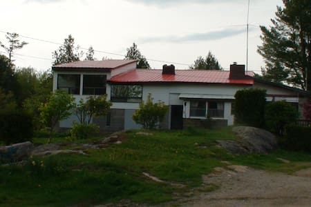 Appartment in house on 32 acres lot