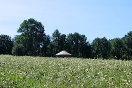 Solar-Powered Yurt on the Sanctuary Land Preserve - Yurt