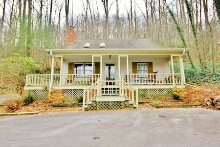 mountain cottage near Asheville - Gerton
