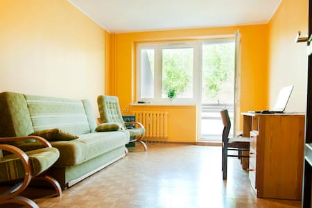 Nice room with balcony, for 2 prs - Daire