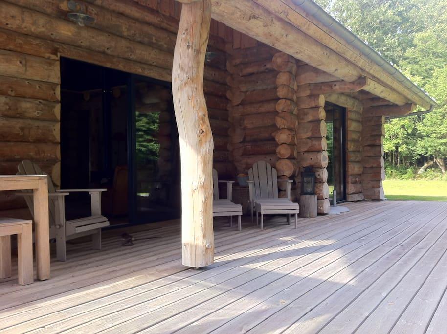 Maison bois en lisière de forêt  Houses for Rent in BeaumontleRoger