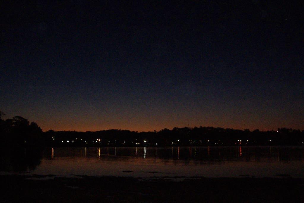 A quiet town Batemans Bay has coast, bay and river beaches.