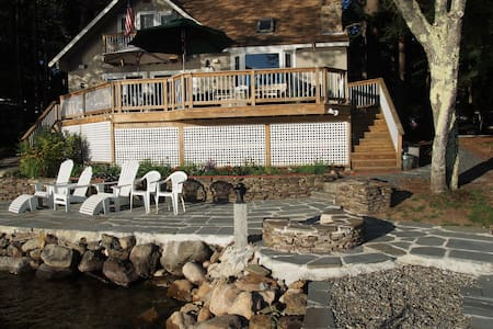 3 BR Lakefront Cottage - Sleeps 8 - Bristol - Huis