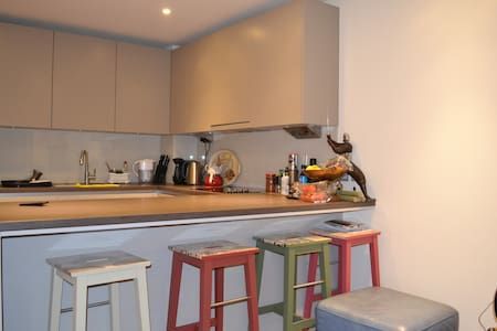 Bedroom in Central London Riverside Location - London - Apartment