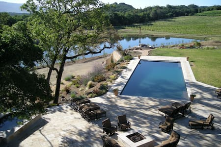 33 Acre Wine Estate,Lake,Waterslide - Glen Ellen - Villa