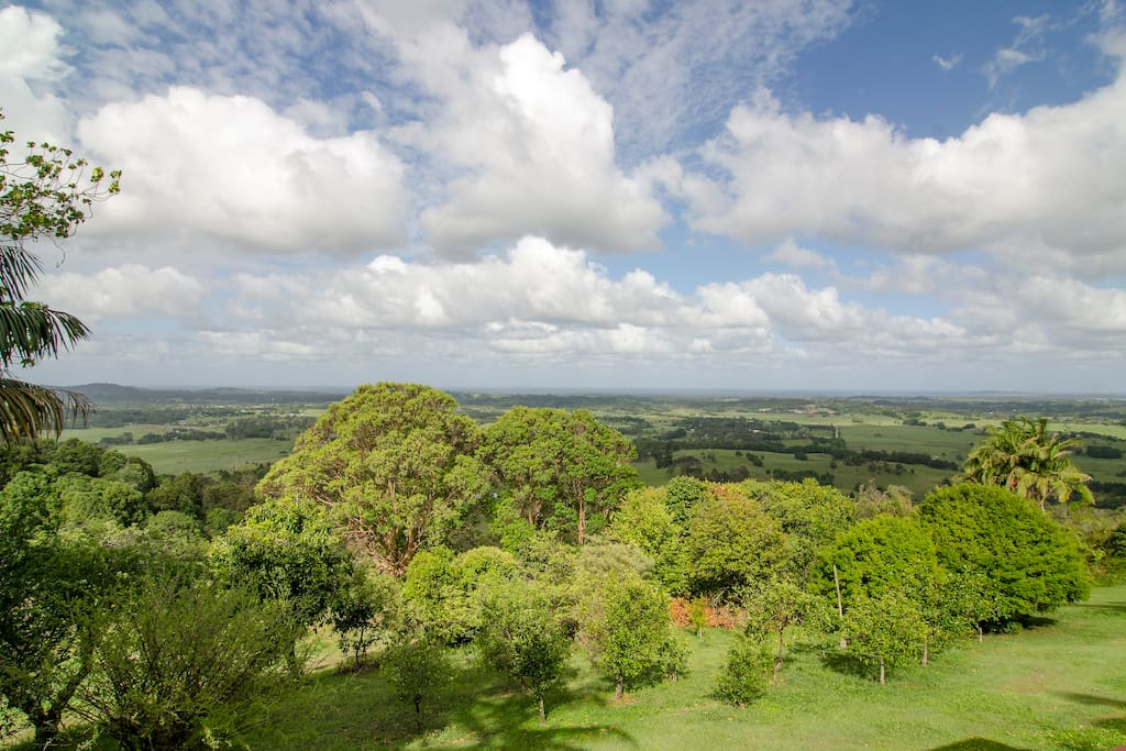Breathtaking views from all parts of the property.