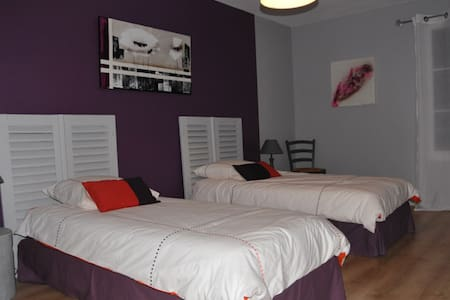 Chambre  Prune - Bed & Breakfast