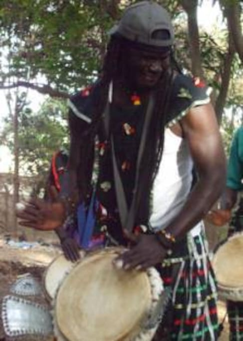 SenegalStyle (we have a band!) Master Percussionist, Ibou Sene!  2hr lessons, 23 euro!