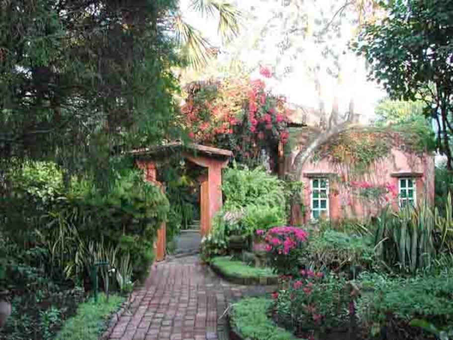 Entrence to Villa Casa Luna