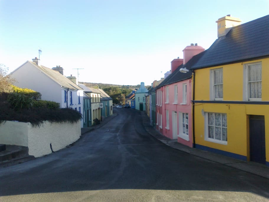 The picturesque village of Eyeries, County Cork, Ireland