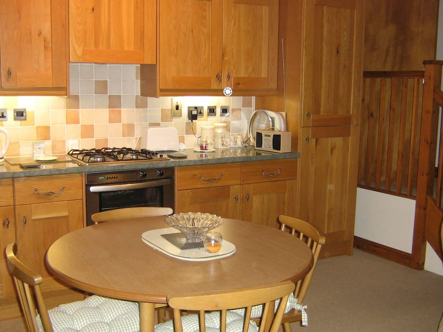 Second view of Kitchen/dining area
