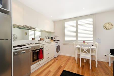 Our Carlton Paris style apartment is a stylish one bedroom one bathroom apartment located just off Lygon Street, Carlton.
