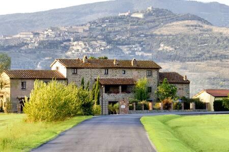Villa La Mucchia in Cortona,Tuscany