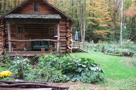 Beautiful Vermont Log Home Retreat - Putney - Maison