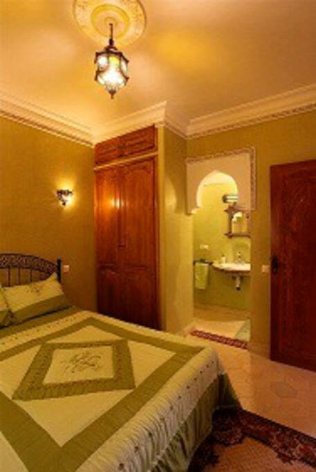chambre bahia (vert pistache)