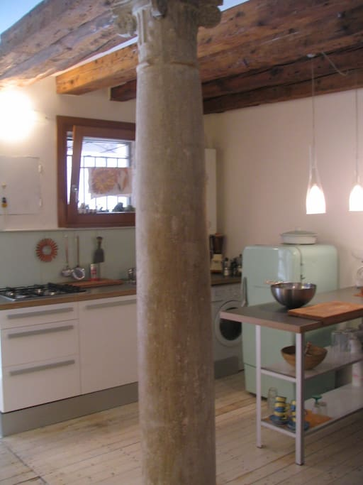 Roomy apartment in a great location