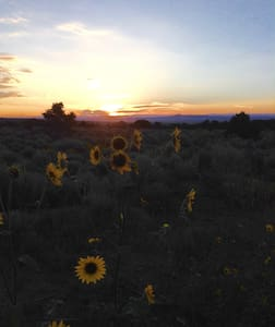 A room with a view (horses welcome) - Ranchos de Taos - Maison