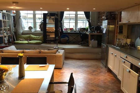 Open-plan stylish & homely 1bed+bath in Greenwich - London - Lejlighed