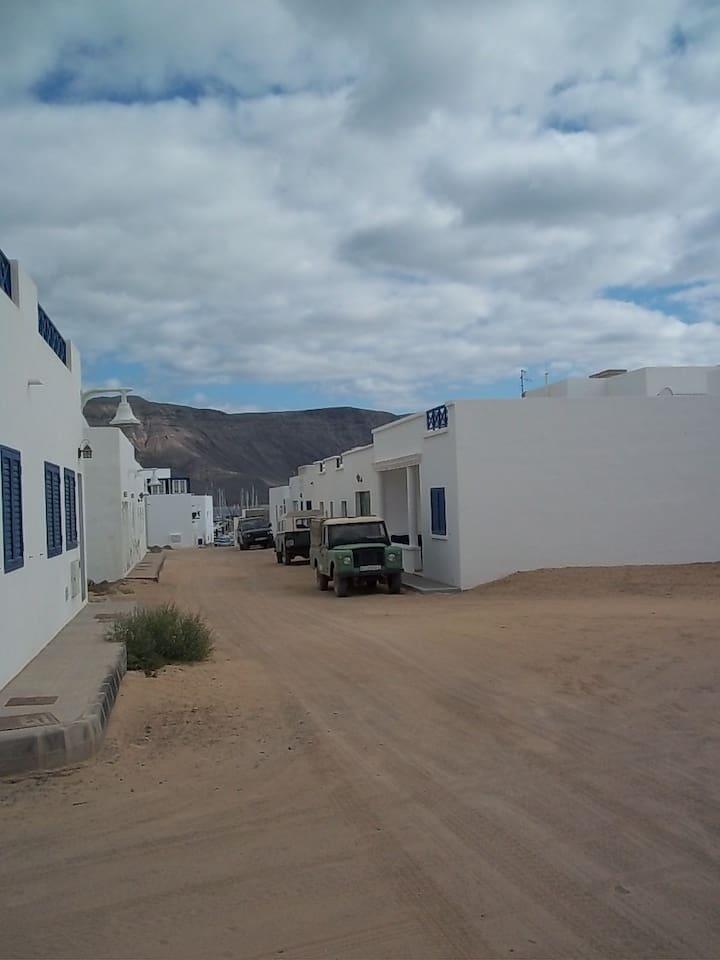 Apartment Coelia in La Graciosa 4p