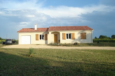 Quiet home with an adventurous owner - Serres-et-Montguyard - Casa
