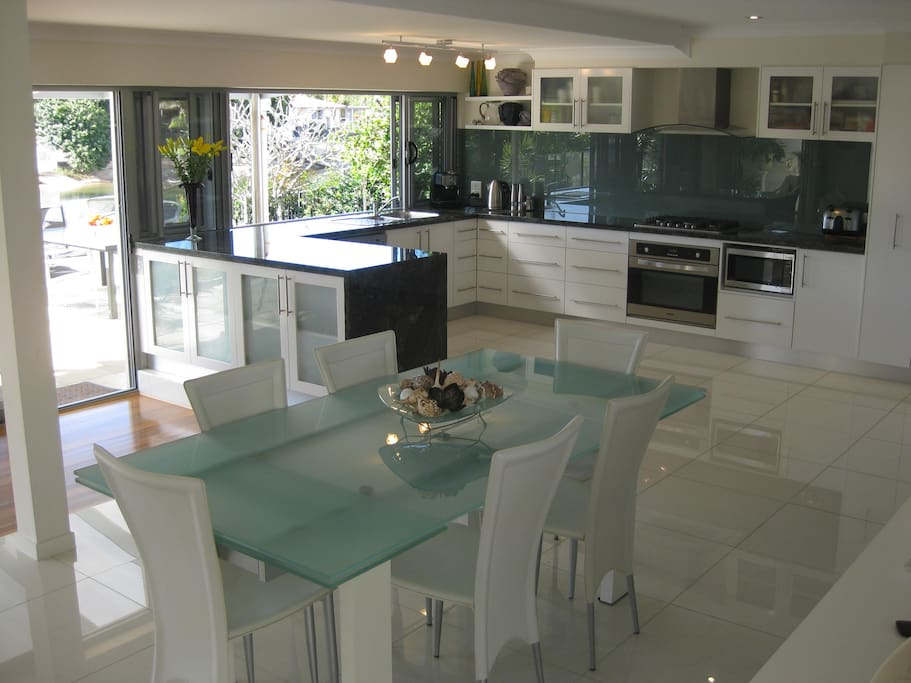 Kitchen / Dining area - all with water views