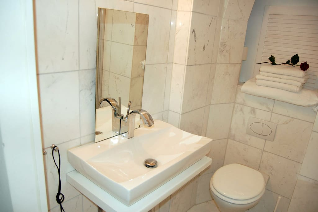 small but nice marble bath