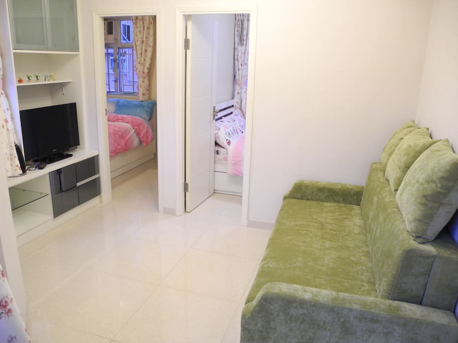 Heart of Mong Kok - 6 ppl apartment