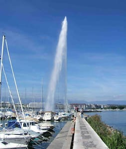 Central apartment by the lake - Geneva - Apartmen