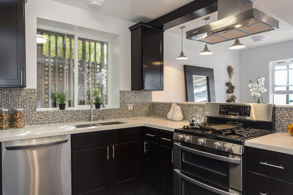 Gourmet Kitchen with Brand New Appliances