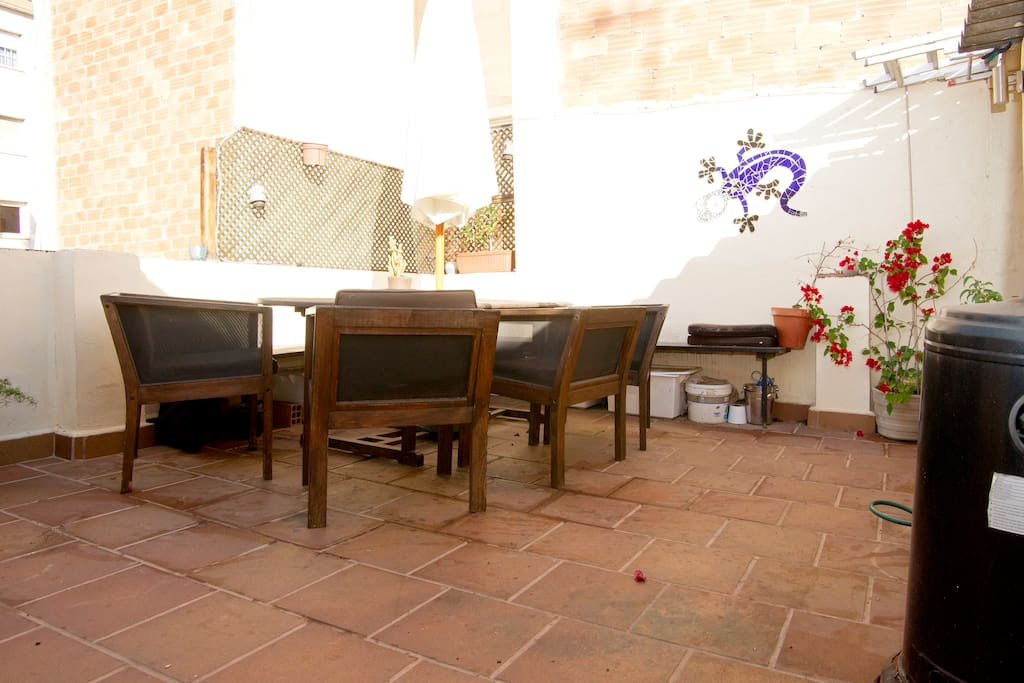 Gracia apartment with large terrace