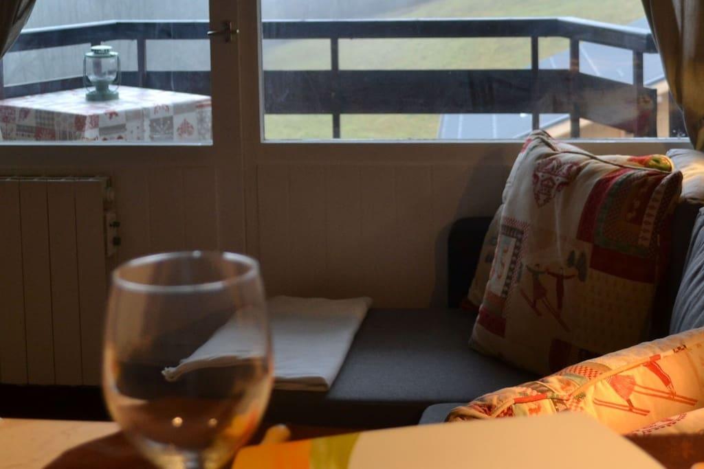 Very attractive flat Chamonix