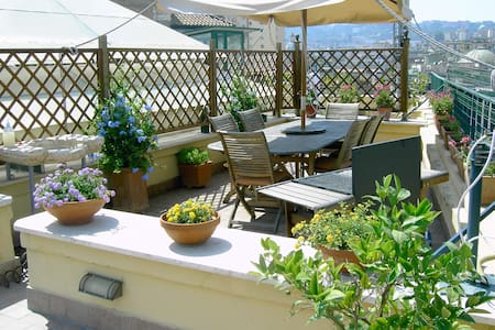 A wonderful penthouse in Naples - Neapel - Wohnung