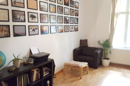 Big, nice and cozy room in lovely Berlin Grünau - Daire