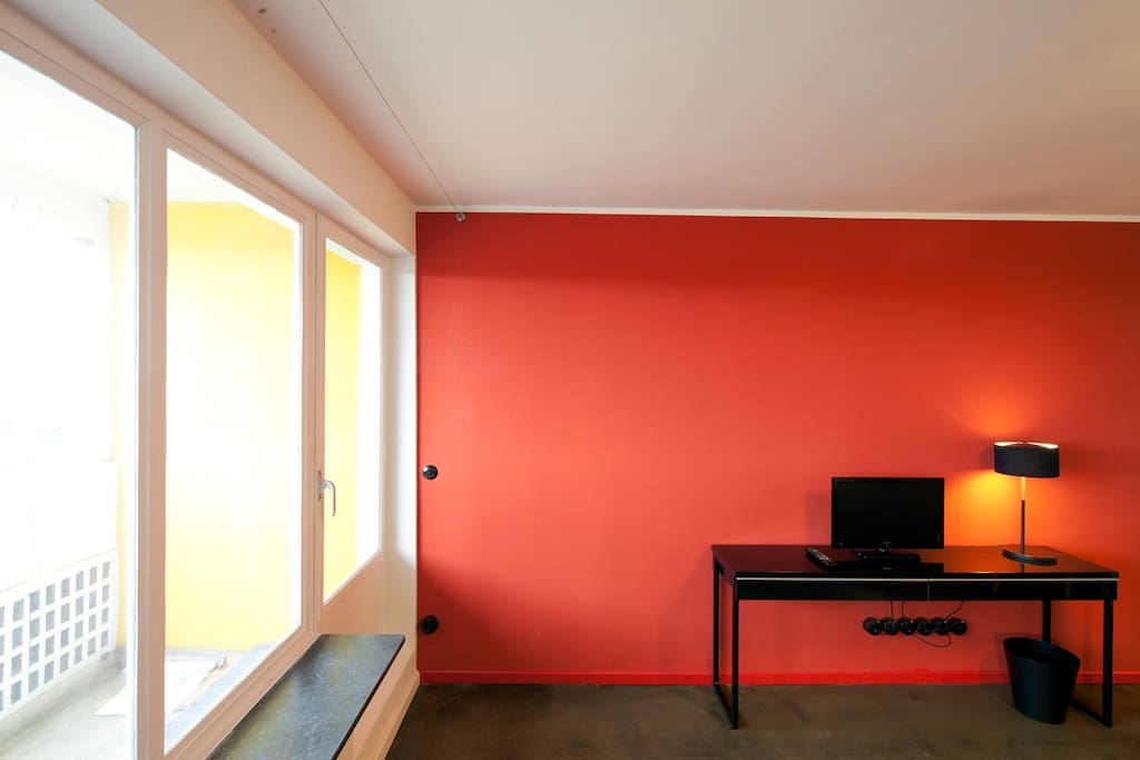 furnished apartment corbusier house apartments for rent in berlin. Black Bedroom Furniture Sets. Home Design Ideas