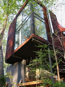 West A'ville sanctuary in the trees - Apartamento