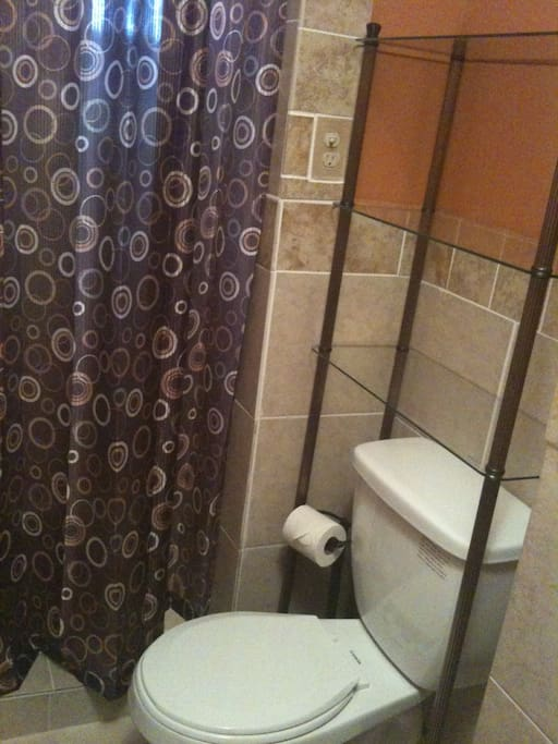 Private bathroom in the room