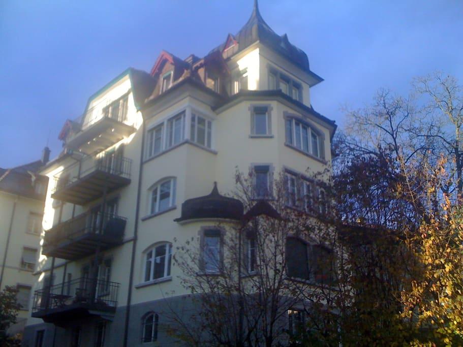 Room St. Gallen close to University