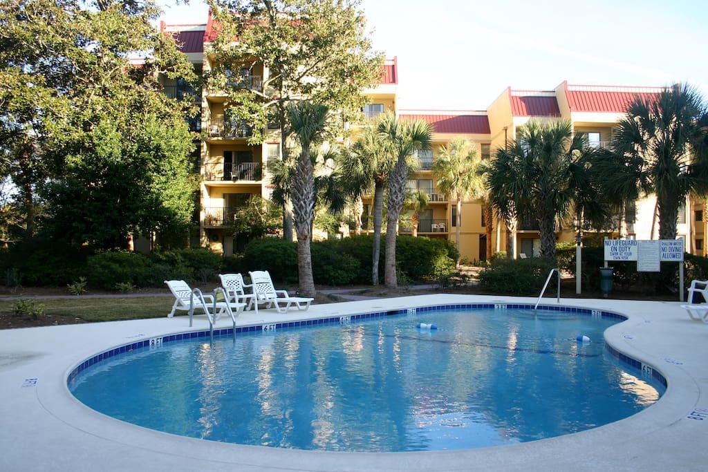 Pool Area of Xanadu Villas