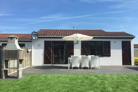 zonnig duinenhuisje te huur - Cabin